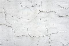 Bakgrund av den spruckna väggen Fotografering för Bildbyråer