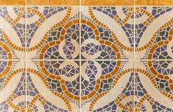 Bakgrund av flera rektanglar som bildas av tegelplattor Royaltyfri Bild