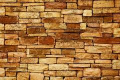 Bakgrund av fotoet för stenväggtextur Royaltyfri Bild