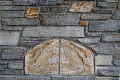Bakgrund av fotoet för stenväggtextur Royaltyfria Foton