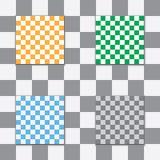 Bakgrund av fyrkanterna Arkivbild