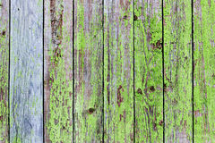 Bakgrund av gamla målade bräden Arkivfoto