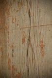Bakgrund av gamla träbräden med spår av målarfärg tonat Arkivfoton