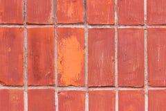 Bakgrund av gammal textur för modell för tegelstenvägg Royaltyfria Bilder