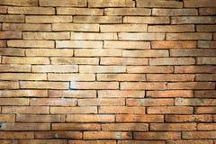 Bakgrund av gammal textur för tegelstenvägg Royaltyfri Foto
