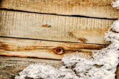 Bakgrund av gammala träplankor Royaltyfria Bilder