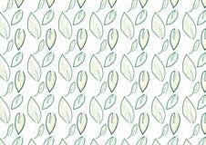 Bakgrund av gröna sidor Royaltyfri Bild