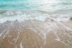 Bakgrund av havet och stranden arkivbilder