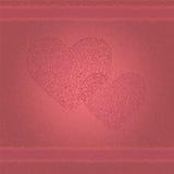 Bakgrund av hjärtor Arkivfoton