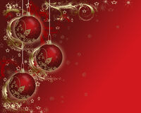 Bakgrund av julkort. Royaltyfri Foto