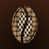 Bakgrund av kaffebönan vektor Royaltyfri Foto
