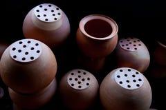 Bakgrund av lergodsen Arkivfoto