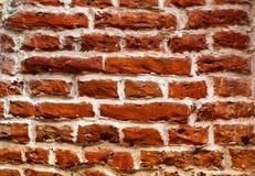 Bakgrund av naturliga tegelstenar, begrepp av naturliga byggnadsmaterial, närbild Fotografering för Bildbyråer