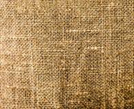 Bakgrund av naturligt linnetyg Royaltyfria Foton