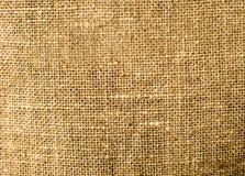 Bakgrund av naturligt linnetyg Arkivbild