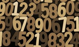 Bakgrund av nummer från noll till nio bakgrundsillustrationen numrerar vektorn Nummertextur Arkivfoto