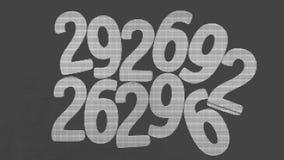 Bakgrund av nummer från noll till nio bakgrundsillustrationen numrerar vektorn Nummertextur Arkivfoton