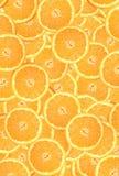 bakgrund av orange cirklar Royaltyfri Bild