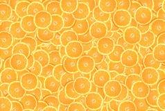 bakgrund av orange cirklar Fotografering för Bildbyråer