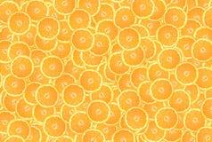 bakgrund av orange cirklar Arkivbild