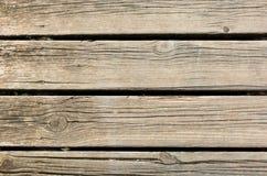 Bakgrund av parallella träbräden Fotografering för Bildbyråer