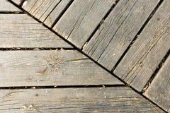 Bakgrund av parallella träbräden Royaltyfri Bild