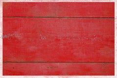 Bakgrund av röda plankor Royaltyfria Bilder