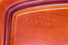 bakgrund av rött trä Royaltyfri Bild