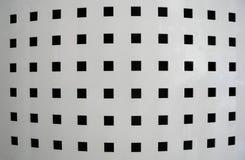 Bakgrund av rader och fyrkanter Arkivbilder