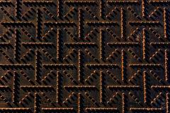Bakgrund av rostiga metalliska texturer Royaltyfria Foton