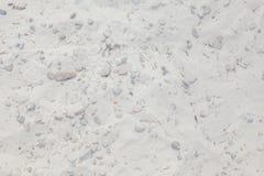 Bakgrund av sand och stenar, bakgrund av smutsig sand och stenar Royaltyfri Fotografi