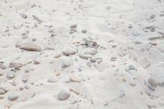 Bakgrund av sand och stenar, bakgrund av smutsig sand och stenar Royaltyfria Foton