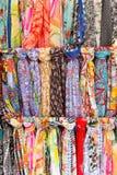 Bakgrund AV scarves Royaltyfria Bilder