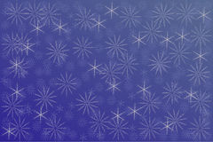 Bakgrund av snowflakes Arkivbild