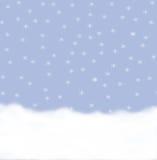 Bakgrund av snowflakes Royaltyfri Foto