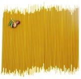 Bakgrund av spagetti Royaltyfri Fotografi