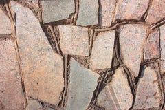 Bakgrund av stenar stonework Royaltyfria Bilder