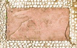 Bakgrund av stenen Royaltyfri Fotografi