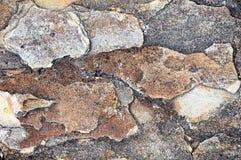 Bakgrund av stenen naturlig sten Royaltyfri Foto
