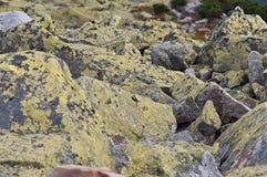 Bakgrund av stenen naturlig sten Berg Royaltyfria Bilder