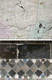 Bakgrund av stenen Uppsättning av 2 beståndsdelar Royaltyfri Foto
