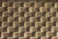 Bakgrund av stenväggen Arkivbilder