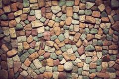 Bakgrund av stenväggtextur Royaltyfria Bilder