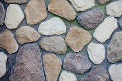 Bakgrund av stora stenar arkivbild