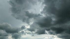 Bakgrund av stormmoln Royaltyfri Fotografi