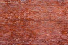 Bakgrund av tegelstenväggen Royaltyfria Foton