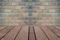 Bakgrund av tegelstenväggen Arkivfoto