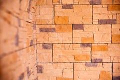 Bakgrund av tegelstenväggtextur Royaltyfri Fotografi