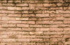 Bakgrund av textur för tegelstenvägg Arkivbilder