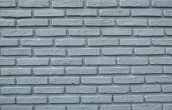 Bakgrund av textur för tegelstenvägg, blå bakgrund för tegelstenvägg Arkivbild